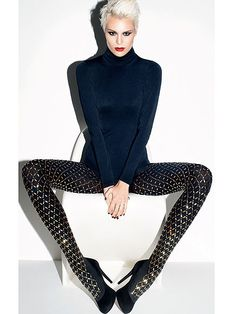 BEDAZZLED WOLFORD TIGHTS