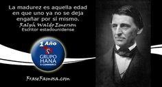Frases de Ralph Waldo Emerson - Frases de Madurez - Frase Famosa