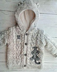 Baby Boys Disney Tigger Fleece Lined Cardigan Jacket with Hood 0-3 months #George #Cardigan
