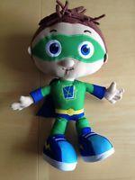 Super Why Wyatt Plush Doll Talking Singing Learning Curve