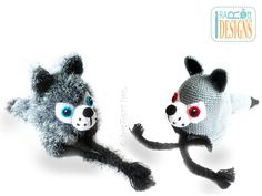 Raff and Rolf the Wolves PDF Crochet Pattern  preview photo 4