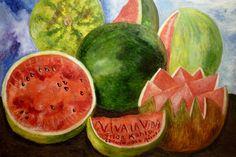 Frida Kahlo. Viva la Vida Watermelons 1954