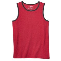 Boys 8-20 Urban Pipeline® Ultimate Tank Top, Boy's, Size: Large, Red