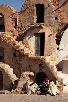 Ksar Ezzahra. Tunisia. © Inaki Caperochipi Photography