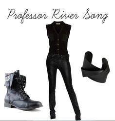 """Professor River Song I love this site. Has what I call """"everyday cosplay"""". Works as well at a convention as it does in everyday life."""