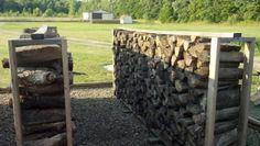 fire wood storage racks