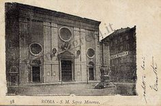 Piazza della Minerva 1900