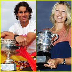 Rafael Nadal & Maria Sharapova Make History at French Open