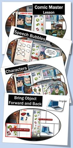 •Graphic Novel Creator! •Choose backgrounds, characters and props •Add dialogue, captions and special effects •It only takes a few seconds to sign up with Comic Master and use this program for FREE! •Save and print finished Comics