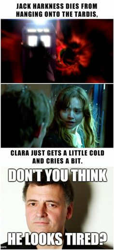 Oh, come on! Did you not watch the episodes? The TARDIS was bucking & freaking out, TRYING to get rid of Jack, but she actually used up time & energy extending a force field to protect Clara.