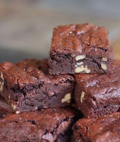 The Cilantropist: Cocoa Brownies with Browned Butter... Best-Ever Brownies?