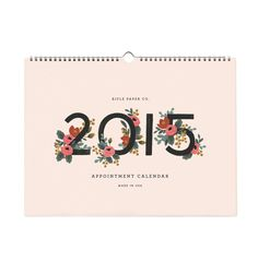 15 Chic Calendars for 2015 • [ The Sassy Street ]