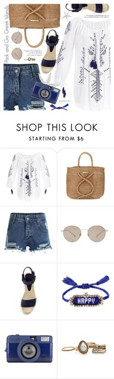 """Pack and Go: Greek Islands"" by black-fashion83 ❤ liked on Polyvore featuring ViX, Gucci, Vince, Shourouk, Packandgo and greekislands"