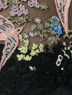 Valentino Landscape Embroidery Dress