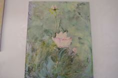 48x36 floating rose   heavenly! by Linda Vaccaro  a popular series.