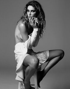"""Life in pics: Editorials: """"Rock star"""" - Erin Wasson by David Roemer    tattoo placement"""