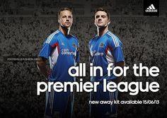 Hull City 2013/14 adidas Away Kit