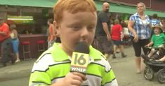 Kid appears on TV for the very first time, steals the show in most hilarious fashion.