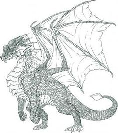 How to Draw a Dragon Step by Step, Step by Step, Dragons, Draw a Dragon, Fantasy, FREE Online Drawing Tutorial, Added by Dawn, June 7, 2009, 6:50:05 pm