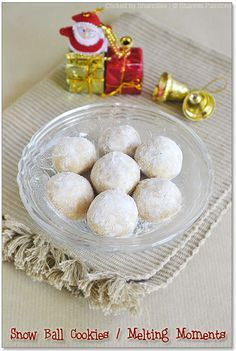 Snowball Cookies (Melting Moments) | Easy Christmas Cookies | Sharmis Passions | best stuff