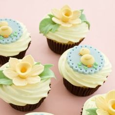 Featured_Img  Gumpaste Easter Toppers   Daffodil tutorial