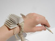 traveler's bracelet notebook natural by travelersjewelry on Etsy