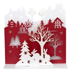 Mixing winter wonderland with Scandinavian chic, these cards from John Lewis pack a festive punch.