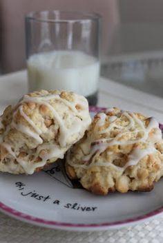 White Chocolate Macadamia Nut Scones! #recipe #foodporn