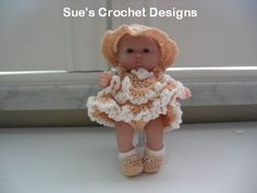 """Itty Bitty Baby Doll Clothes for 5"""" Berenguer Doll"""