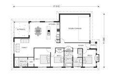 Hampton 168 - Metro, Home Designs in Gympie | G.J. Gardner Homes