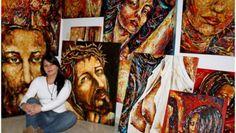 Diana Francia Gómez: Pintar es entrar a un mundo paralelo creado por mí #dianafrancia #artedianafrancia #arte #artecolombiano Diana, Painting, Walk In, Interview, France, Exhibitions, Artists, Painting Art, Paintings