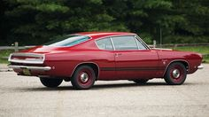 1968 Plymouth Barracuda Formula S Fastback