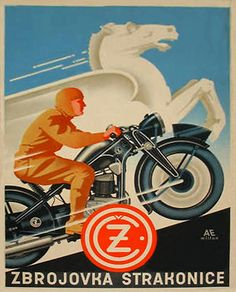 Motorcycle Logo, Motorcycle Posters, Bike Poster, Poster Ads, Old School Art, Midnight Rider, Retro Logos, Classic Bikes, Print Advertising