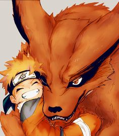 Naruto and Kurama im LITERALLY CRYING MY EYES OUT I CANT LOOK AT THIS OMG OMG