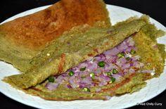Andhra Cuisine - Southern Spices #Pesarattu #Street #Food #India #ekPlate #ekplatepesarattu