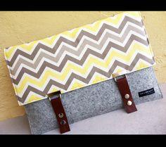 13 macbook case sleeve  100 Merino Wool felt 3mm by AlexMLynch