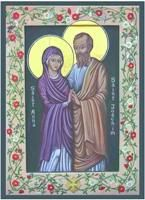 Mother Anne, be joyful;  sing, O mother holy,  Since thou art the parent  O God's Mother lowly.    Praise thy wondrous daughter;  Joachim, t...