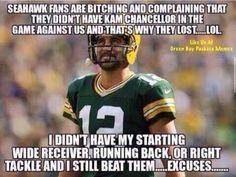 Week one 2017 Packers Memes, Nfl Memes, Football Memes, Sports Memes, Football Stuff, Football Season, Bears Packers, Packers Baby, Go Packers