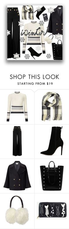 """""""Winter Style"""" by rosidew ❤ liked on Polyvore featuring Miss Selfridge, RED Valentino, ALDO, Somerset by Alice Temperley, Mulberry and Barbour"""