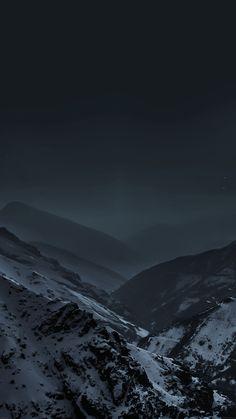 Mountains At Night Fog Snow /> <div id=