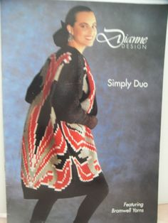 SIMPLY DUO - PATTERNS FOR THE PASSAP DUOMATIC KNITTING MACHINE