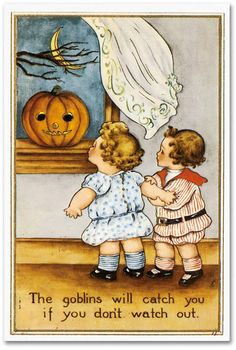 another vintage halloween postcard. i love the boxing pumpkins! halloween postcard Vintage Halloween Vintage Witch Halloween Paper Hat V. Retro Halloween, Halloween Chat Noir, Halloween Fotos, Vintage Halloween Cards, Fröhliches Halloween, Victorian Halloween, Halloween Pictures, Vintage Holiday, Halloween Outfits