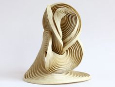 Math Craft Inspiration of the Week: The Curve-Crease Sculptures of Erik Demaine « Math Craft