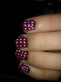 Polka dots. (also need cleaning up)