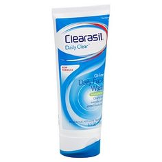 I'm learning all about Clearasil Daily Clear Oil-Free Daily Face Wash at @Influenster! @clearasil
