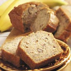 Zucchini Banana Bread recipe.  Just made this and it is delicious!  Substituted pecans.