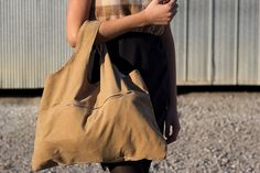 Corduroy Tote Bag in Tan. Fully Lined. Upcycled by blissjoybull, $68.00. recycled. eco friendly.