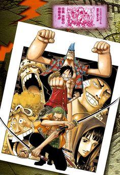 Манга Artbook One Piece - Color Walk 4 - Eagle онлайн
