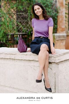 Are you looking for a designer leather handbag? Click through to check out the Amalfi Tote, handmade in Italy with smooth Italian Leather Handbags, Designer Leather Handbags, Purple Handbags, Purses And Handbags, Simple Aesthetic, Purple Fashion, Everyday Bag, Italian Style, Tote Purse