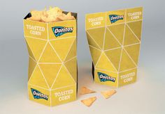 Innovative packaging concept designed by Petar Pavlov for Doritos chips. We were JUST discussing this the other day.
